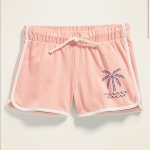 NWT Jersey Dolphin-Hem Cheer Shorts For Girls XS 5